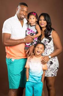 Kieron Pollard Jenna Ali And Their Daughter