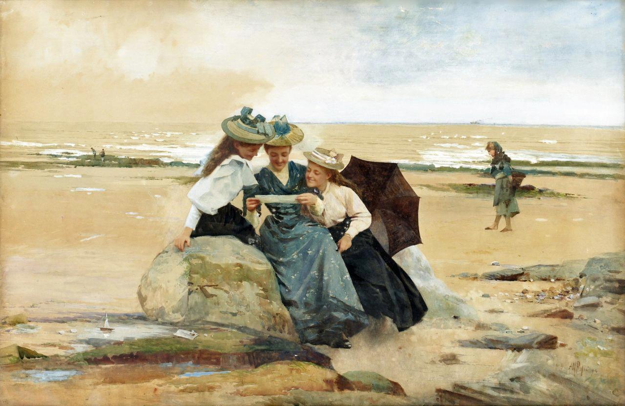 Victorian British Painting Alexander Mark Rossi
