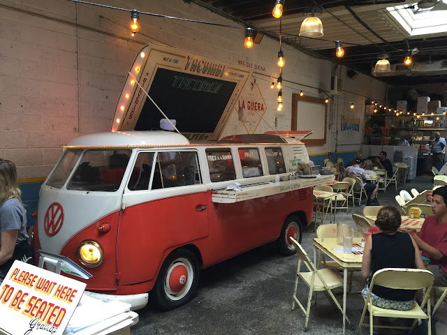 Bulli VW Bus mexican Food Mexikaner