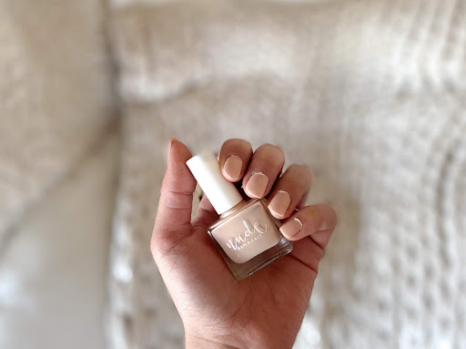 vernis ongle spiga nude swatch test