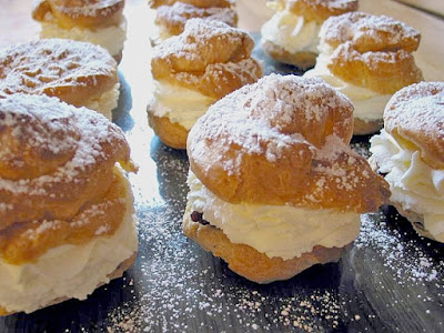 INTERNATIONAL: German Profiteroles OR Windbeutel from My Best German Recipes with VIDEO