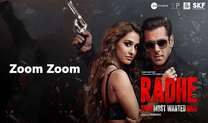 ज़ूम ज़ूम Zoom Zoom Lyrics in Hindi – Radhe