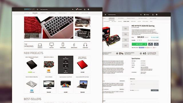 Computix Store – Free Eshop Template