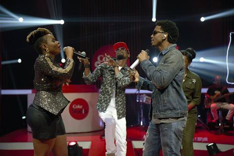 the #CokeStudio4NG stars and superstar Trey Songz