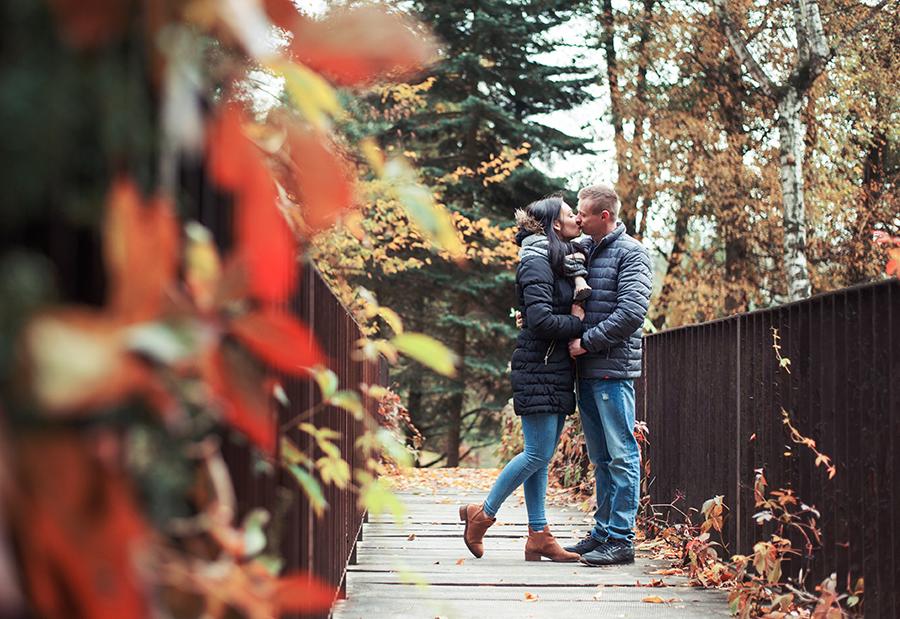 Ola i Mateusz - jesienna sesja zakochanych | Lublin | Ogród Botaniczny