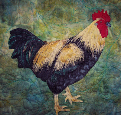Pattern Quilt Rooster My Quilt Pattern