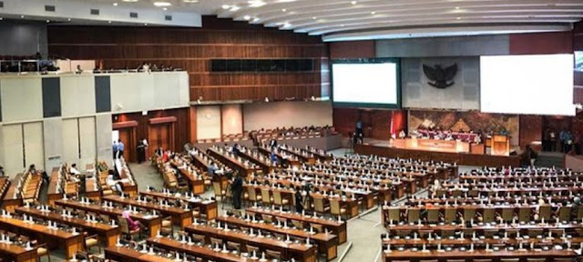 Anggota DPR RI Periode 2019-2024 Resmi Dilantik