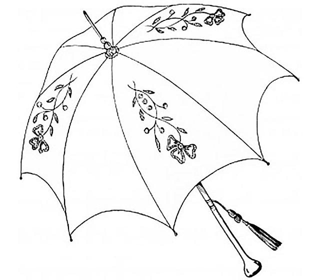 Gambar Mewarnai Payung - 10