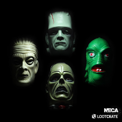 NECA's Limited-Edition Universal Monsters Mask Series