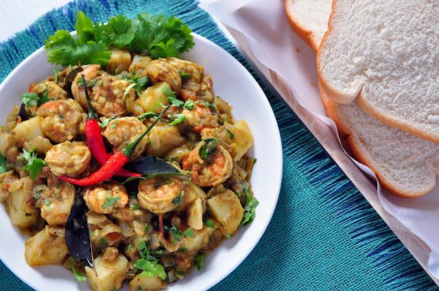 Goan Shrimp Chilli Fry