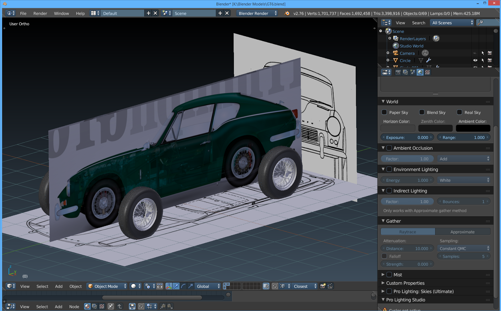The tinkers workshop blender 3d 1967 triumph gt6 project i then put the blueprint along with the colored broadside view of the car into blender and aligned them so i could get an accurate layout to set up the body malvernweather Gallery