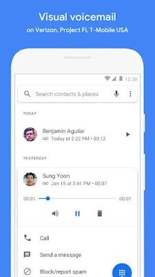 Phone interface