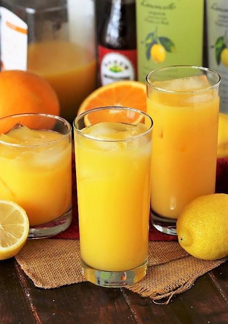 Limoncello Sunrise Cocktail Base Mixture Image