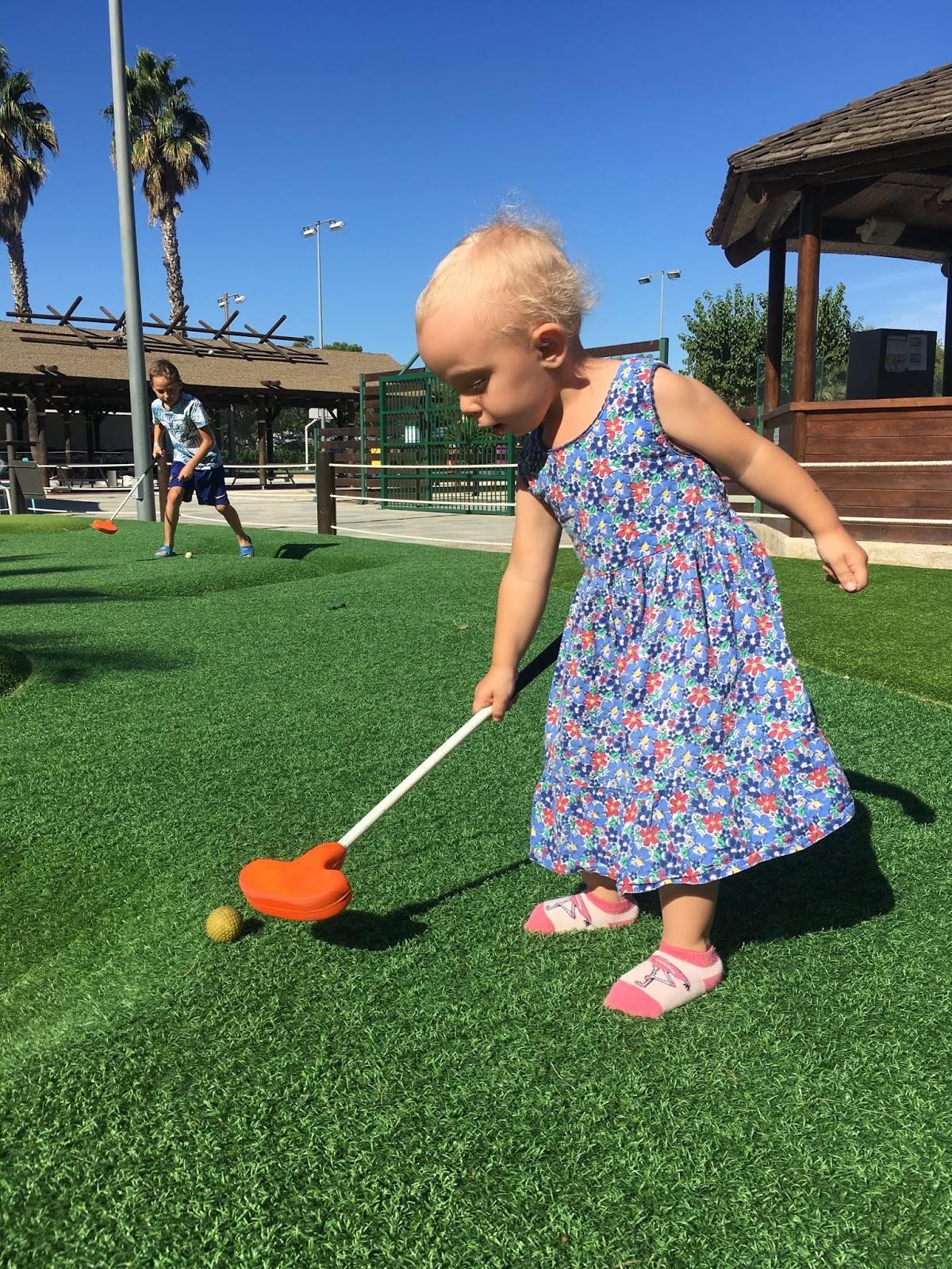 zajęcia golf dla dzieci