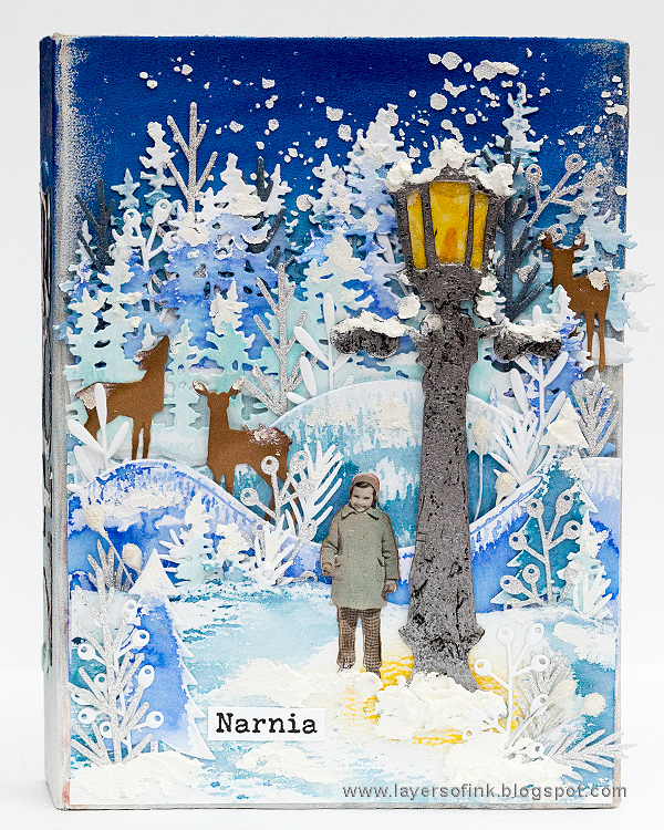 Layers of ink - Narnia December Daily Journal by Anna-Karin Evaldsson
