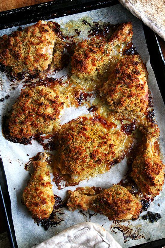 Ina Garten's Dijon Mustard Roasted Chicken Thighs