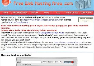 FreeWebHostingArea