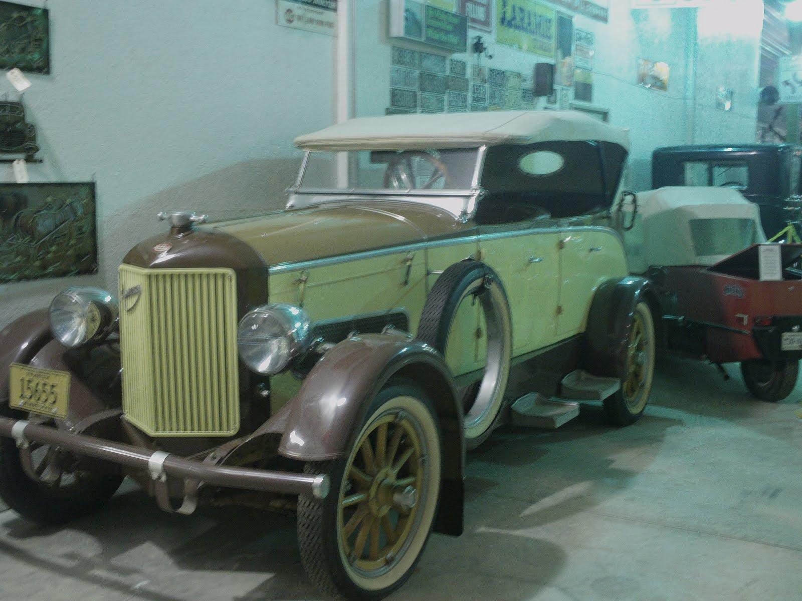 Schwanke Car, Tractor and Truck Museum: 1923 Anderson ...