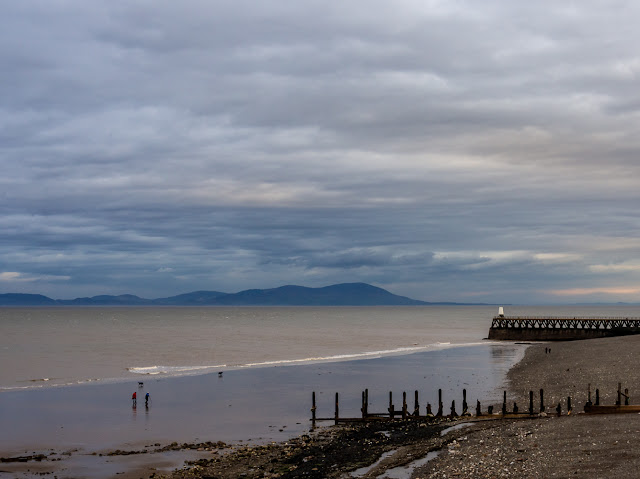 Photo of Maryport beach at low tide