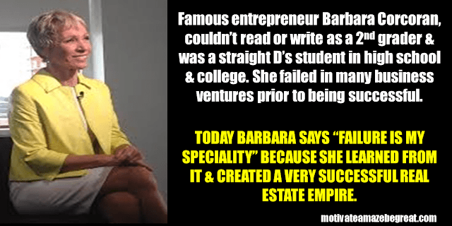 Success Stories From Famous People Who Failed Before Succeeding: Barbara Corcoran