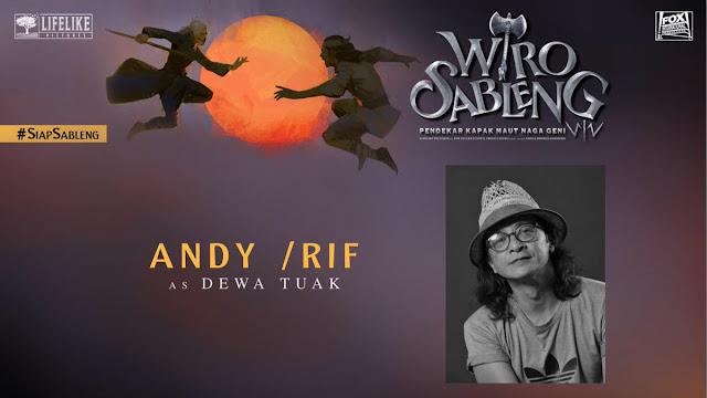 Andy /RIF sebagai Dewa Tuak/ Sumber foto @LifeLikePictrs