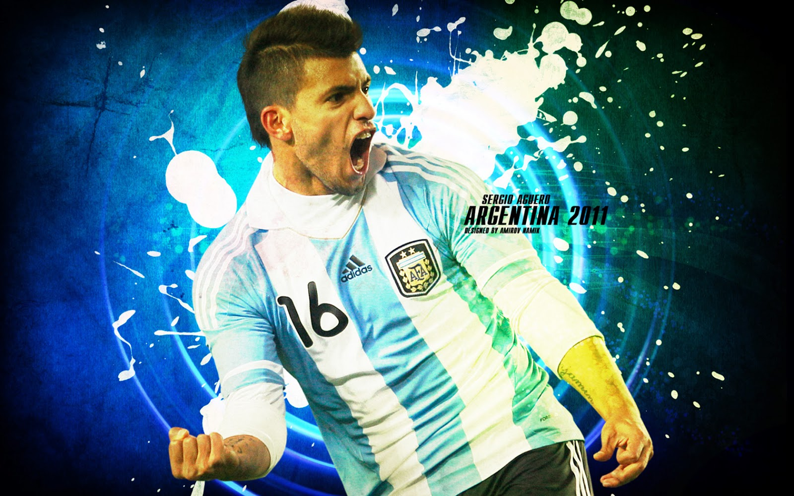 Sergio Aguero Wallpapers: Famous Sports Personalities: Sergio Aguero Hd Wallpapers 2013