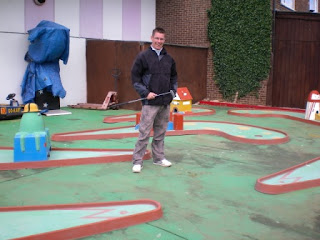 Minigolf at the Vegas Amusement Arcade in Hunstanton