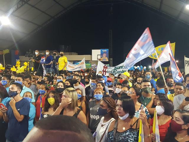 PAÇO DO LUMIAR: Apoiadores de Fred Campos lotam Convenção que oficializou seu nome de candidatos a vereador