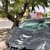 Una mujer tuvo que ser trasladada al hospital tras dar su coche varias vueltas de campana