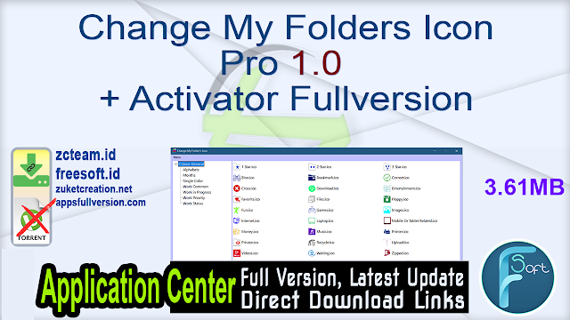 Change My Folders Icon Pro 1.0 + Activator Fullversion