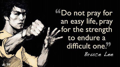 quotes time do not pray for an easy life, pray for the strength to endure a difficult one.