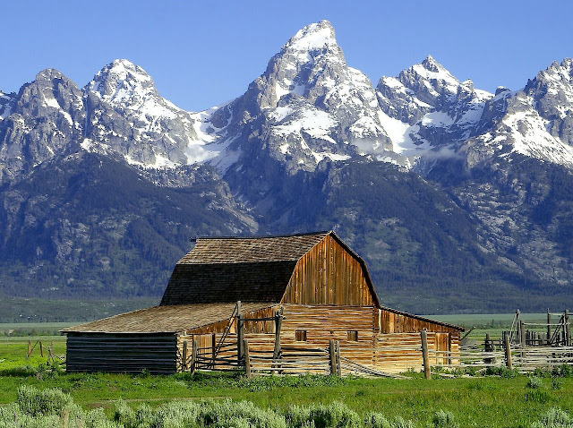 Parque Nacional Grand Teton Wyoming
