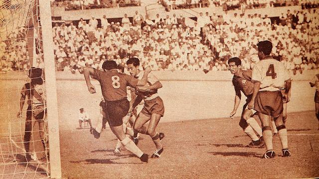 Chile y Ecuador en Campeonato Sudamericano de 1955