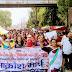 बलात्कार और हत्या के विरोध में फूटा ABVP का गुस्सा, निकाला आक्रोश मार्च