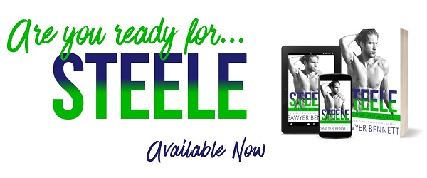 Are you ready for Steele? Available Now.