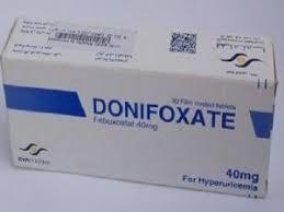 سعر اقراص دونيفوكسات Donifoxate للنقرس
