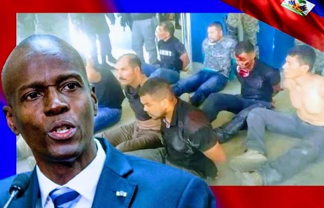 Mercenarios colombianos confiesan detalles del asesinato del presidente Jovenel Moïse en Haití