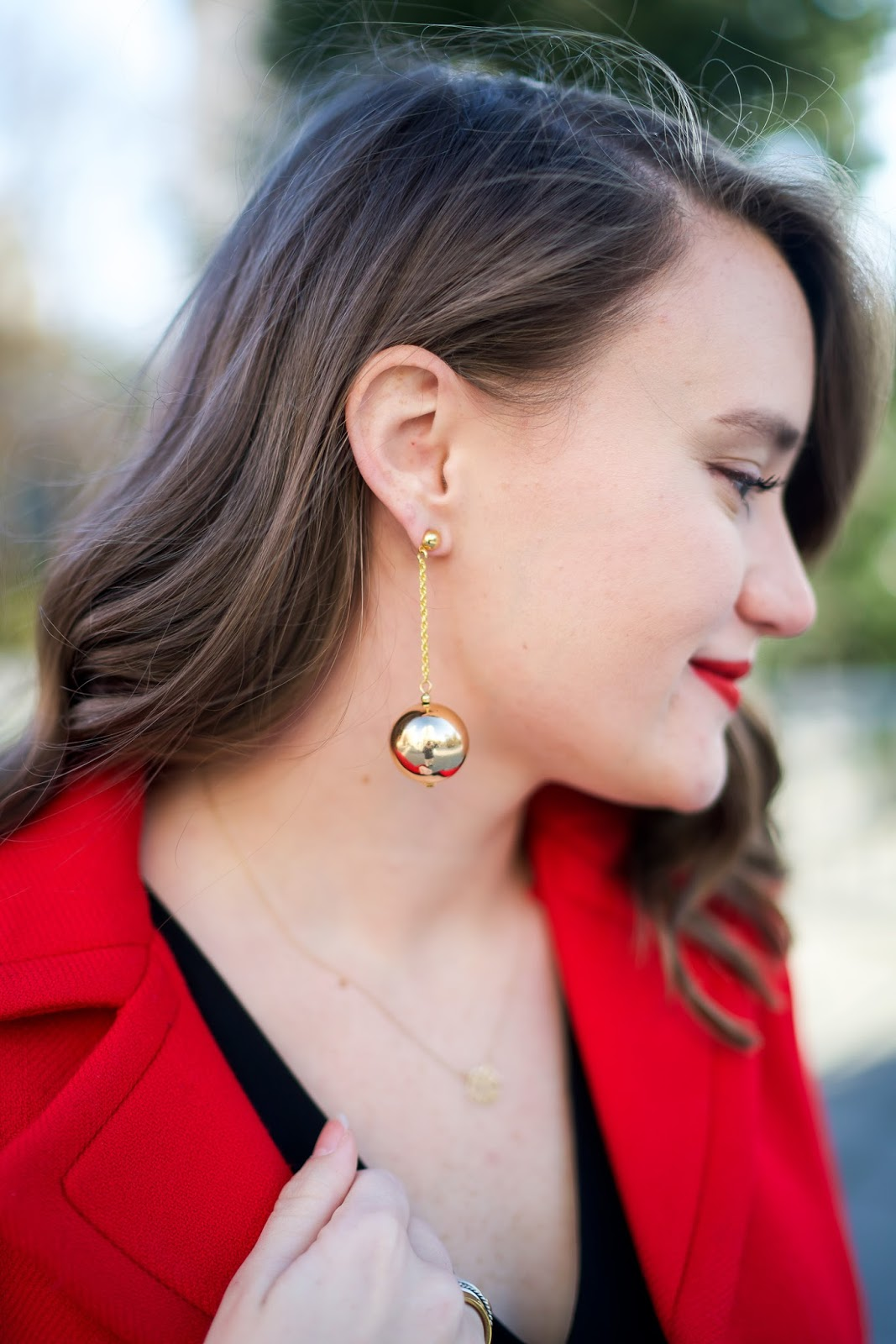 Tuckernuck Gold Drop Earrings