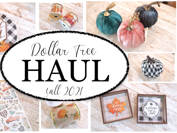 NEW Sharing a Dollar Tree Haul | Fall 2021