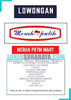 Job Vacancy di Merah Putih Mart Surabaya Terbaru Oktober 2019