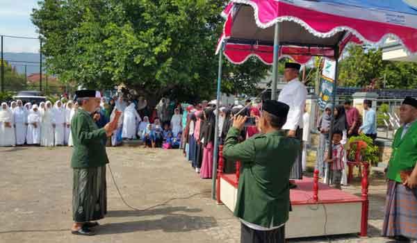 bupati kuningan ikut rayakan hari santri nasional