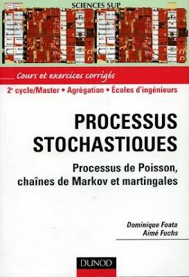 Télécharger Livre Gratuit Processus stochastiques - Processus de Poisson, chaînes de Markov et martingales pdf