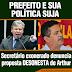 Presidente Interventor do PPS (Guto Rodrigues) aliado hoje de Arthur Neto(PSDB) já acusou o Prefeito de ser desonesto e de colocar vários pais de famílias na rua.