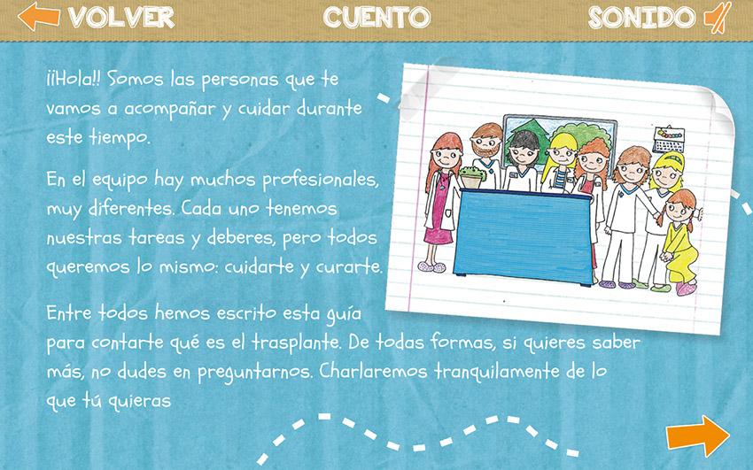 App trasplante de médula - Hospital Infantil Universitario Niño Jesús