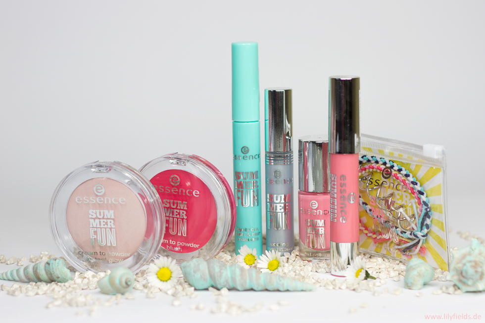 "Foto zeigt die LE Essence Cosmetic ""Summer Fun"""