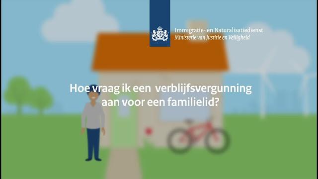 لم شمل الأسرة لحاملي تصريح اللجوء في هولندا