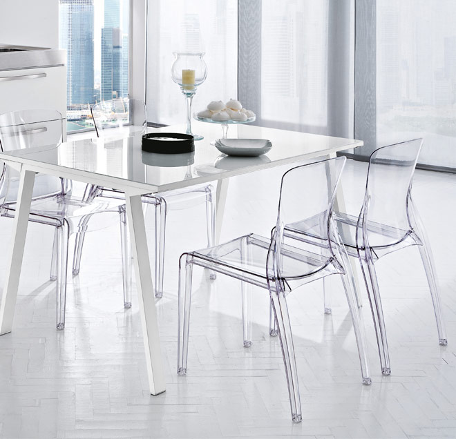modern kitchen Crystal chair Design | Any Kind of Furniture's