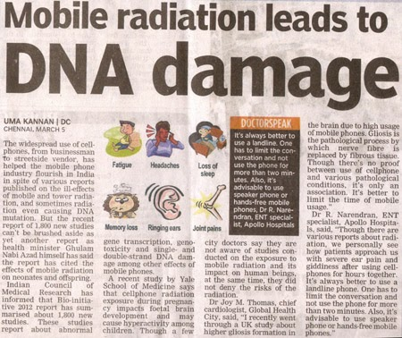 Apex Telecom net: HOW DO RADIATION FROM MOBILE PHONES HARM US???