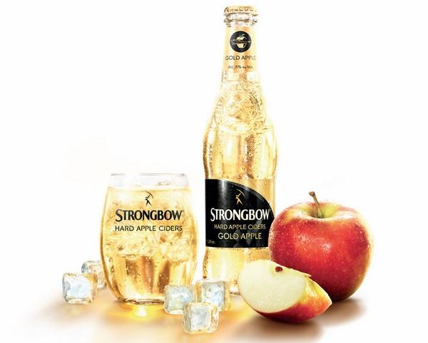 Strongbow Cider nước ép táo trên thị trường hiện nay