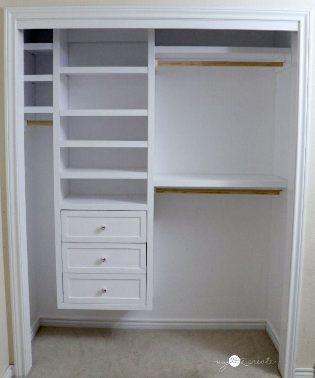 How do build a DIY Custom closet MyLove2Create